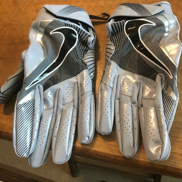 Nike Other - Nike VAPOR JET 4 PE Football Receiver Gloves Gray